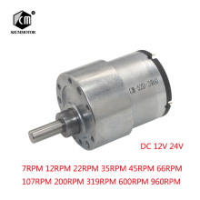 37mm 12V DC 7RPM to 960RPM High Torque Gear Box Electric Motor New Gearmotor zndiy bry 12v dc 15rpm high torque gear box electric motor