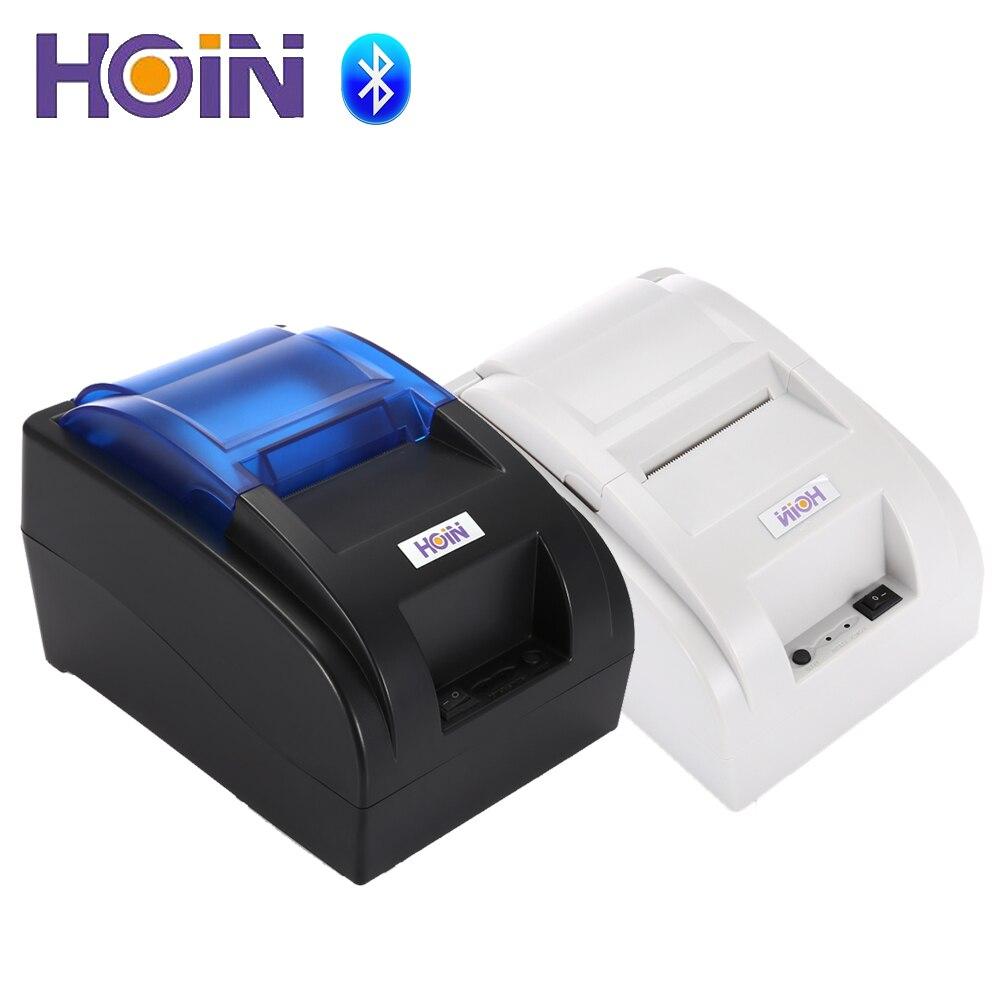 HOIN HOP-H58 USB/Bluetooth registratore di Cassa carta Termica Stampante di Ricevute POS Stampa Strumento
