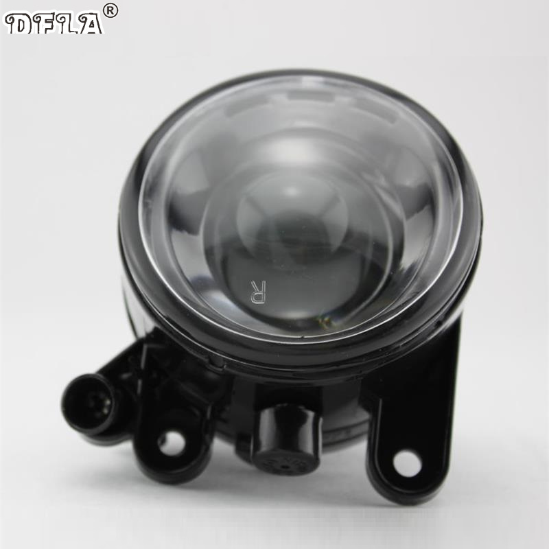 Right Side For VW Golf 5 Golf MK5 2004 2005 2006 2007 2008 2009 Car-styling Front Halogen Fog Light Fog Lamp With Convex Lense 2pcs auto right left fog light lamp car styling h11 halogen light 12v 55w bulb assembly for ford fusion estate ju  2002 2008