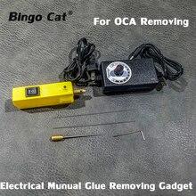 GR10S Mini Electrical Glue Removing Machine For Samsung For iPhone Etc. LCD Screen OCA Glue Manual Glue Removing Gadget цена и фото