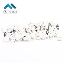 300 шт. 30 Значения 0603 SMD Резистор Комплект 1ohm-1M сопротивление Ассорти Комплект 5% электронный компонент пакеты видов каждый 10 шт.