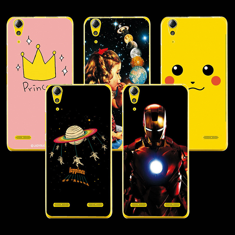 Colored Paintings Ample Phone Case For Lenovo A6010 A <font><b>6010</b></font> Case Cover Colored Paiting Case Cover For Lenovo A6010 5.0