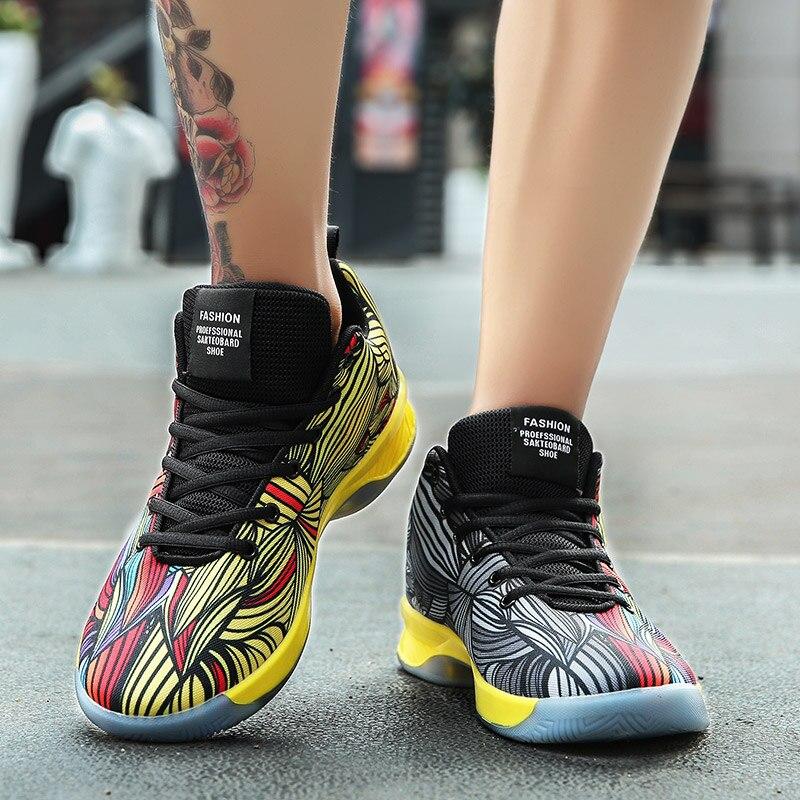 2019 Verão Homens Respirável Esportivos Coreano Baixos Tênis De Red Gray Lona Sapatos Yellow red Grey Masculinos black Dos YwxXqBAXz