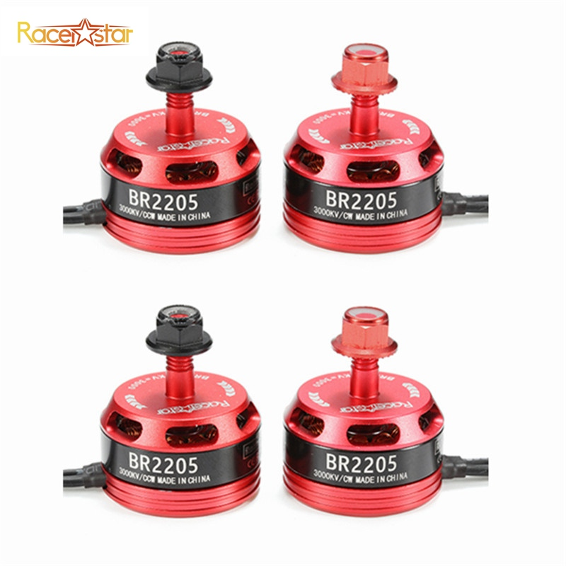 4pcs 4x Racerstar Racing Edition 2205 BR2205 3000KV 2-4S Brushless Motor For X210 X220 250 260 FPV Frame RC Drones Quadcopter touchstone teacher s edition 4 with audio cd