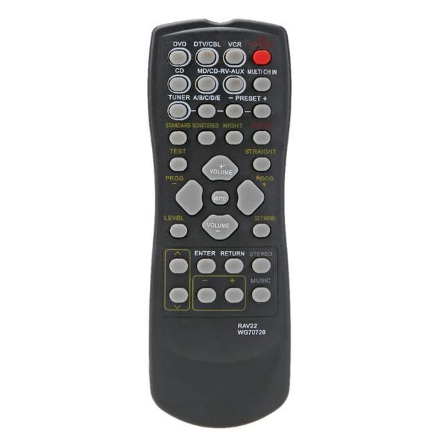RAV22 A Distanza di Controllo di Ricambio per YAMAHA CD DVD RX V350 RX V357 RX V359 HTR5830 Home Theater Senza Fili A Distanza di Controllo