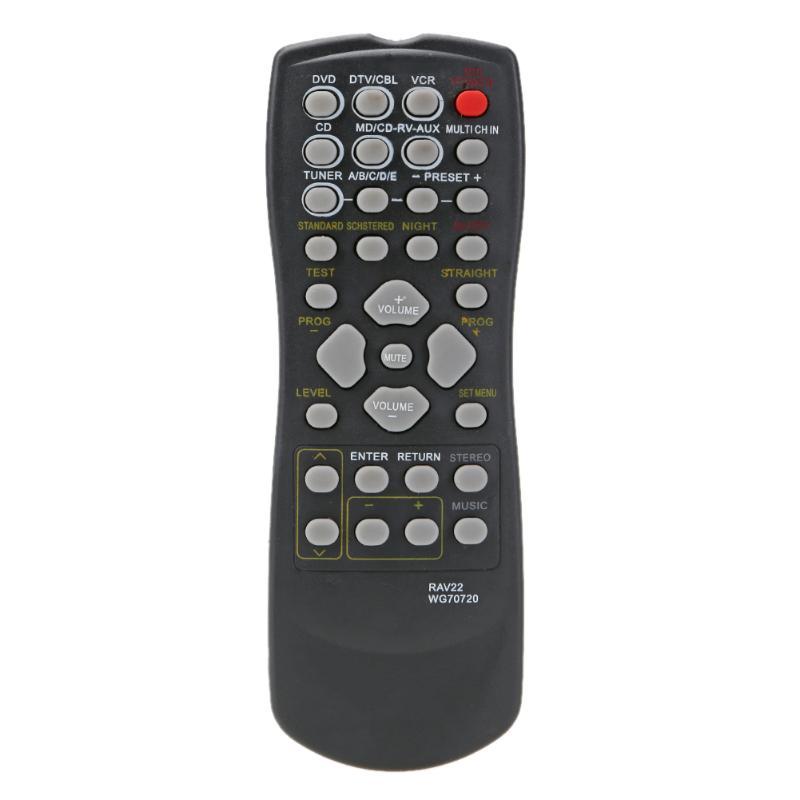 RAV22 Remote Control Replacement for YAMAHA CD DVD RX-V350 RX-V357 RX-V359 HTR5830 Home Theater Wireless Remote Control universal remote control suitable for yamaha rav22 wg70720 home theater amplifier cd dvd rx v350 rx v357 rx v359 htr5830
