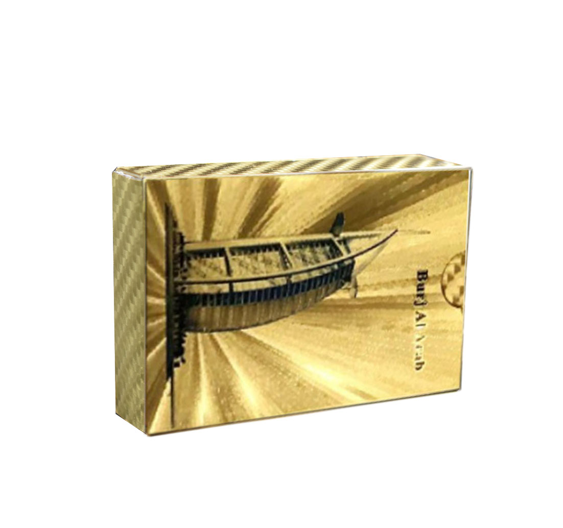 Father/'s Day Gift Waterproof Poker Playing Card Golden Dragon Euro Print