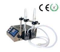 CE Brand New peristaltic pump liquid filling machine (3-3000ml) for perfume,solvents,corrosion liquid filler with 2 nozzles