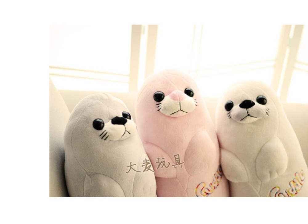 3pcsset 40cm  Aquarium Sea lions plush toy doll doll Children\'s Day gift to send his girlfriend a birthday gift free shipping (7)