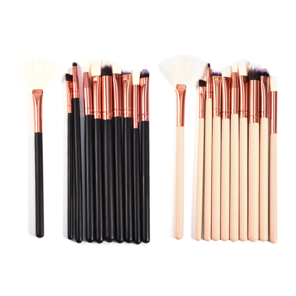 10pcs Rose Gold Brush Set Aluminum Tube Makeup Brushes Makeup Brush Set Makeup Eye Brush Set Beauty Supplies Beauty pincel