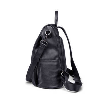 ZOOLER рюкзак женский кожаный COW leather backpack Women Genuine Leather bags bagpack backpacks сумка женская 2020 travel Bolsa