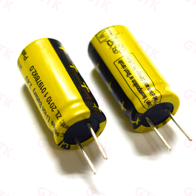 US $54 0 |Lithium titanate battery 2 4v 160mah LTO 20C high rate discharge  Supercapacitor electronic toys solar LED-in Replacement Batteries from