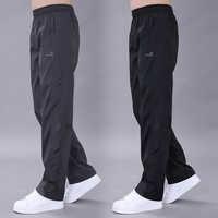 Casual Trousers Sweatpants Thin Polyester Track Pants Men Easy Cuffless Trousers Joggers Men Pants Streetwear Pantalon Hombre