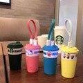 Novo padrão de Luxo Starbuck olá kitty Banco Do Poder 12000 mAh Alta Qualidade Desafio Externo Powerbank móvel bateria portátil