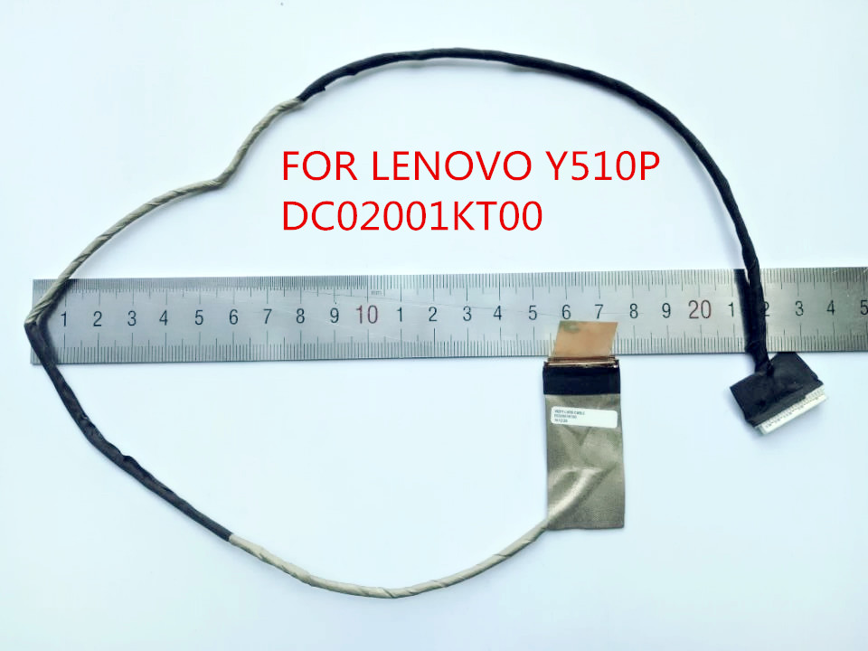 NEW LVDS CABLE FOR LENOVO Y510P 1080P FHD LCD LVDS CABLE VIQY1 DC02001KT00 100% Tested Fast Ship