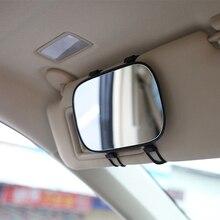 Новое поступление, портативное автомобильное солнцезащитное зеркало, зеркало для макияжа, автомобильное интерьерное солнцезащитное HD косметическое зеркало, авто косметическое зеркало, автомобильный стиль