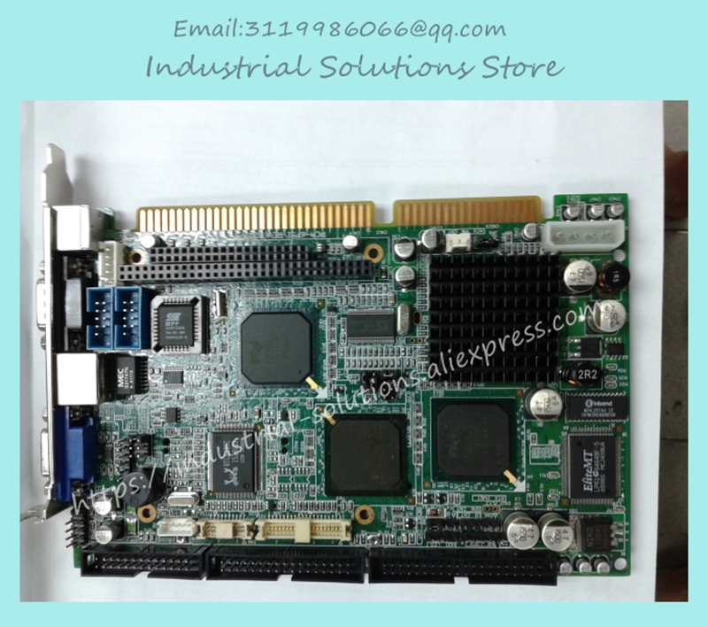 Fully Integrated Half-length Industrial Motherboard PCA-6742 100% tested perfect quality 3 g41 motherboard775 needle cpu ddr2 ddr3 fully integrated 1g board 100% tested perfect quality