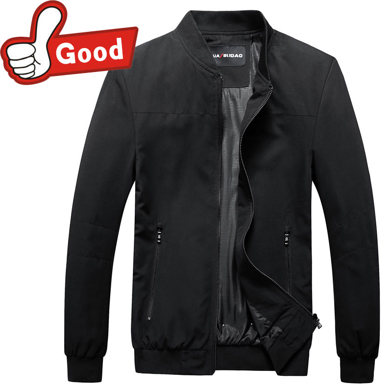 2016 Thin Jacket Men Fashion Casual Loose Mens Jacket style Solid Bomber Jacket Mens Zipper Coats
