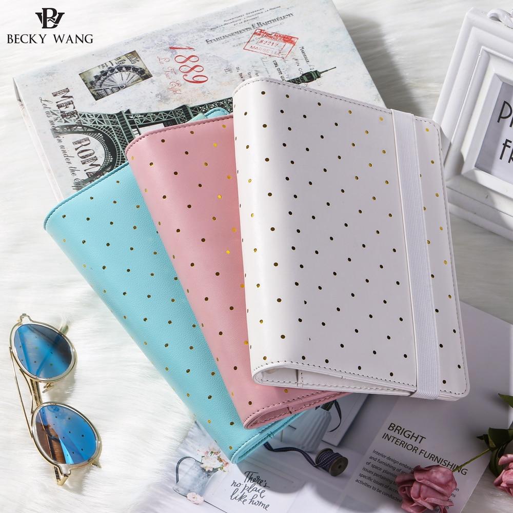 Cadernos faux moda couro a5 a6 Tipo Pacote : Opp Pocket, Gift Box