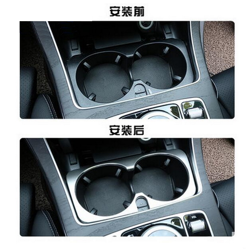 1 PCS font b Car b font New DIY Stainless Steel In The Control Glass Light