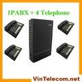 китайский производитель vintelecom дешевые sv308 атс с 4 телефоны- бесплатная доставка