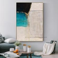 Картина маслом на холсте, ручная работа, Картина на холсте, настенная живопись для гостиной, большие синие пинтурасы, al ole, художественная картина, домашний декор