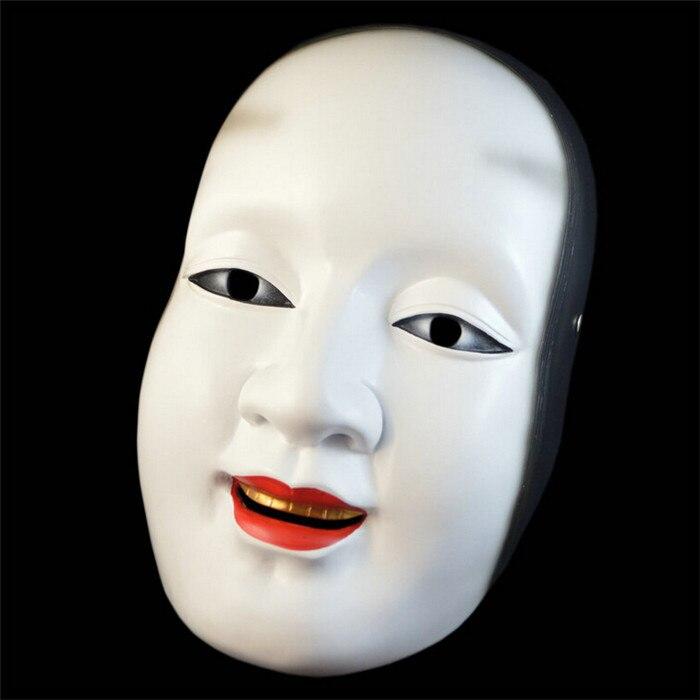 2015 édition collective film thème masque Halloween fabricants édition Boutique résine japonais Noh masque soleil Cilang masque