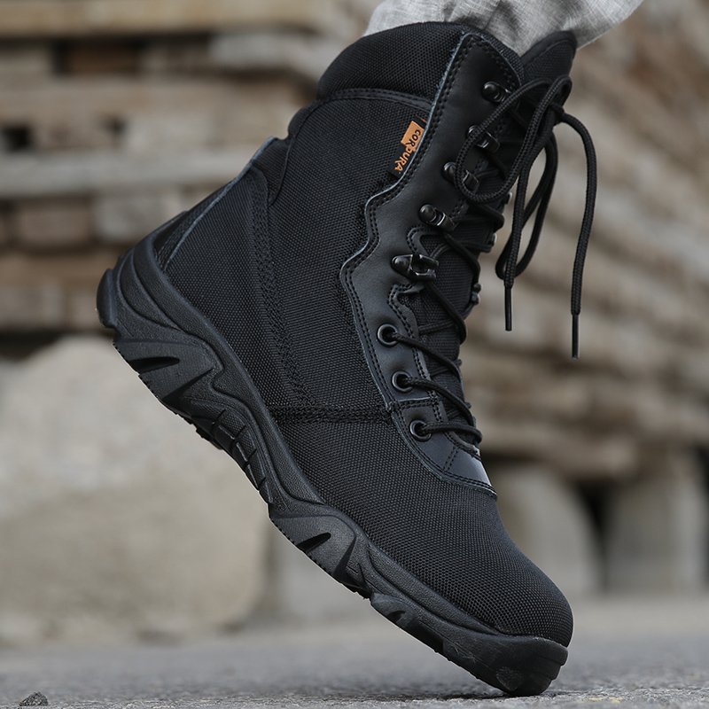 2019 Men military boots camouflage tactical combat boots  1