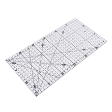 Ruler Quilting Sewing-Diy-Tool Patchwork Transparent Cloth 30x15cm Foot-Aligned Thick