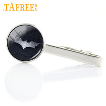 TAFREE Superhero Bat mens Formal Wear Necktie Clip Exquisite Man's shirt tie pin vintage fashion movie breaking bad jewelry T166(China)