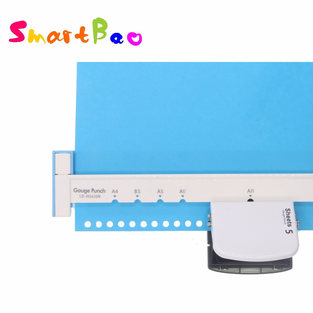 A4 / A5 / B5 Hole Puncher DIY Loose Leaf Hole Punch Handmade Loose-leaf Paper Hole Puncher