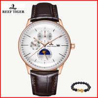 2019 riff Tiger/RT Luxus Casual Uhren Wasserdicht Rose Gold Automatische Uhren Männer Konvexen Objektiv Analog Uhren Relogio Masculino