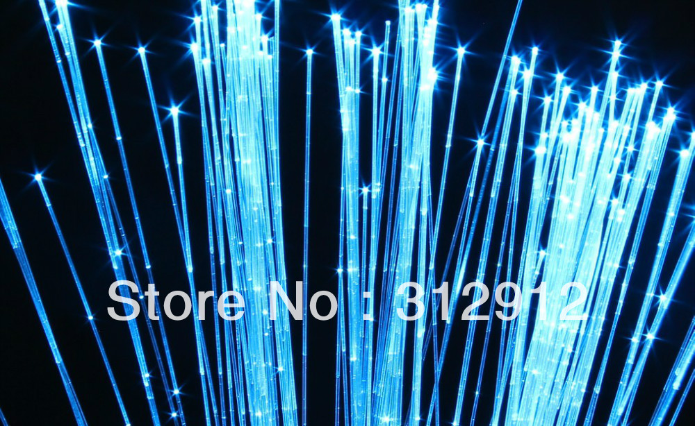 Image 4 - 1*1.0mm(1500m/roll)Side glow sparkle fiber optic waterfall curtain;in clear PVC covercurtain roomcurtains curtaincurtain for door window -