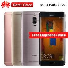 """Mondiale Huawei Compagnon 9 Pro 6 GB RAM 128 GB ROM 5.5 """"Kirin 960 Octa Core 2560×1440 4000 mAh Double Arrière Caméras NFC OTG téléphone portable"""