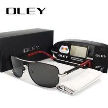 OLEY, Брендовые мужские поляризованные солнцезащитные очки, wo, мужские солнцезащитные очки, очки для вождения, Oculos, поддержка логотипа, на заказ, Y8724