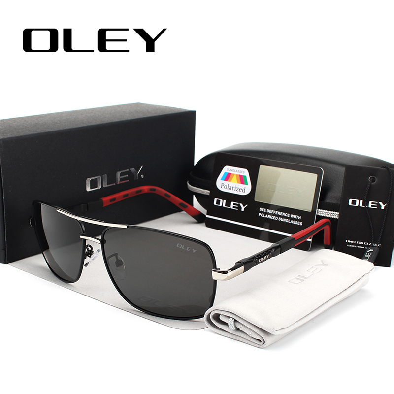 OLEY Brand Men's Polarized Sunglasses women Sun Glasses Driving Goggles Oculos Support logo customization Y8724