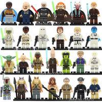 26pcs Lot Legoingly Star Wars Figure Set Gamorrean Paploo Ahsoka Tano Obi Wan Boba Fett Yoda
