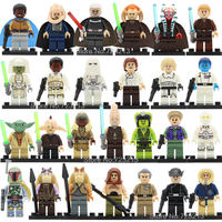 26pcs Lot Legoingly Star Wars Figure Set Gamorrean Paploo Ahsoka Tano Obi Wan Boba Fett Yoda