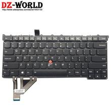 New Original for Lenovo Thinkpad X1 Carbon 3rd Gen 3 MT 20BS 20BT US English Backlit