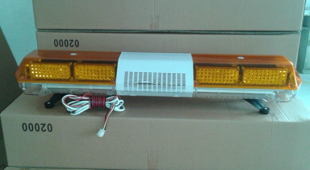 Яркий 120 см 88 Вт светодио дный LED автомобиля предупреждение световой, аварийное освещение бар для полиции скорой помощи огонь, водонепрони