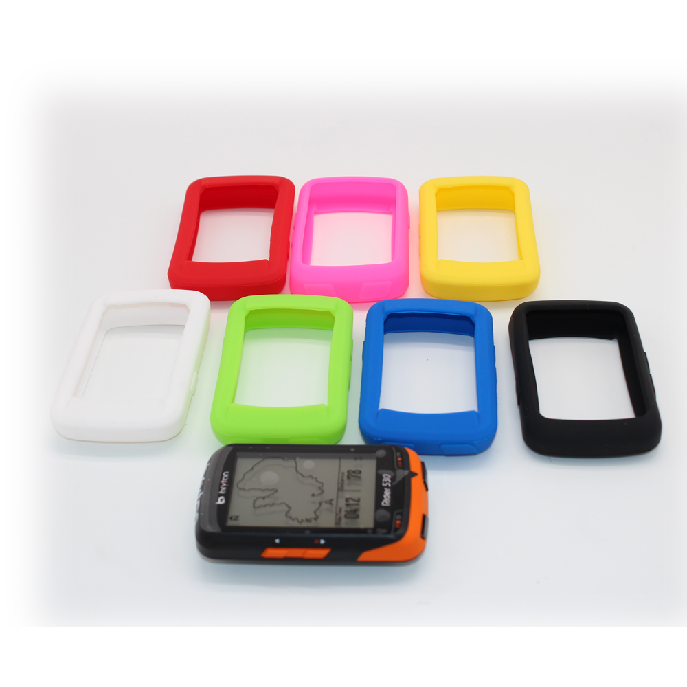 Free shipping Bicycle Silicone Rubber shockproof Protect Cover Case For Bryton 530 <font><b>Bike</b></font> Cycling <font><b>GPS</b></font> <font><b>Computer</b></font> Accessories image