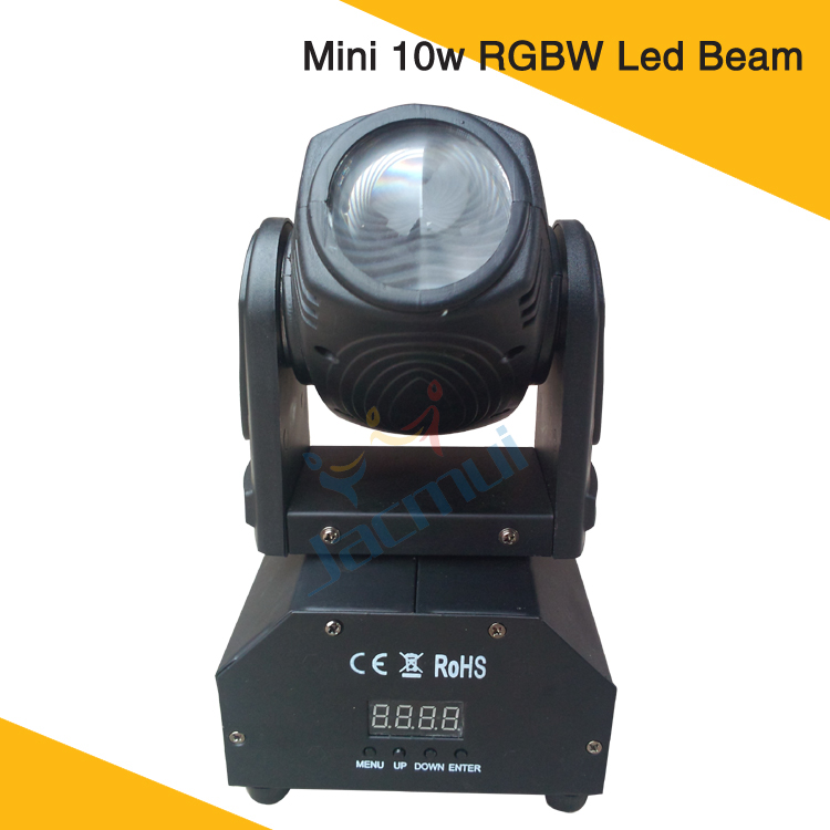 10W Moving Head Led Mini Beam RGBW Cabeza Movil Led Beam Mini Dj Light10W Moving Head Led Mini Beam RGBW Cabeza Movil Led Beam Mini Dj Light