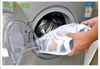 Lagerung Veranstalter Tasche Mesh Wäsche Schuhe Taschen Trockenen Schuh Organizer Tragbare Waschen taschen hause hausschuhe