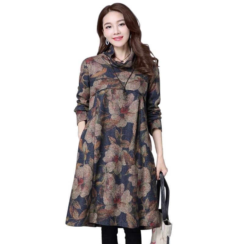 2016 autumn winters big yards dress s clothing
