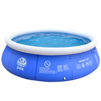 New Ground Inflatable Swimming Pool Set For Adults Kids Summer Easy Large Blue PVC Infant Swim Accessories Pond