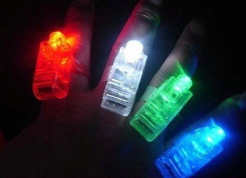 brand new Laser fingers lamp small night lights lamp energy saving lamp Night light Holiday decorations 280PCS