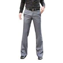 2018 Korean version of the waist whisper pants men fashion casual pants Slim suit pants hanging pants trousers tide Size 28-36