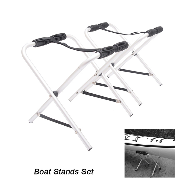 Boat Stands Universal Portable Boat Support Stand Kayak Canoe Raft Holder  Portable Boating Storage Kayak Stand