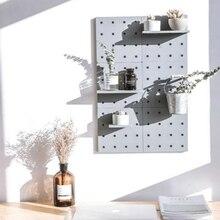 Креативная Полочка с настенным креплением, кухонный органайзер для ванной комнаты, стеллажи для хранения, пластиковая подставка для чашки, цветочный горшок, держатель для зубных щеток на стену