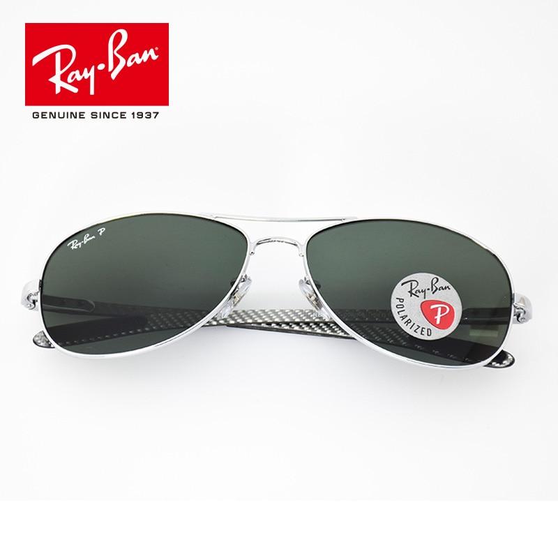 100% Original Rayban Oval Sunglasses Polarized Lens Eyewear Accessories Sun Glasses classic prescription RB8301-002/N5 casual metal crossbar mirrored oval sunglasses